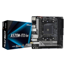 ASROCK A520M-ITX/AC MOTHERBOARD