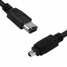 Anyware Firewire IEEE 1394A Cable 6P-4P 5m