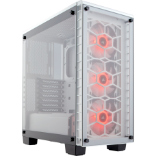Crystal Series 460X RGB Compact ATX Mid-Tower Case - White