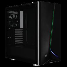 Corsair Carbide SPEC-06 RGB Tempered Glass Gaming Case - Black