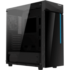 Gigabyte C200 Tempered Glass with Stylish RGB Light Midsize Gaming Tower