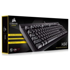 Corsair Gaming K66 Mechanical Keyboard - Cherry MX Red