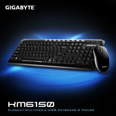 GIGABYTE KM6150  Elegant Multimedia USB Keyboard & Mouse