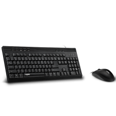 Rapoo NX1710 Wired Keyboard Mouse Combo