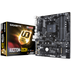 AM4 Gigabyte AX370M-DS3H Motherboard