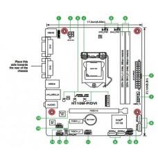 LGA1151 ASUS H110M-P/DVI DDR4 MicroATX Motherboard NEW - OEM - NO BOXING