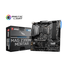 LGA1151 MSI MAG Z390M MORTAR mATX Motherboard for Gaming