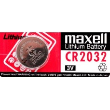 Maxell CR2032 3V Lithium Battery 1pcs in original package