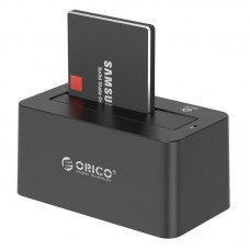 ORICO 2.5 & 3.5 inch SATA3.0 USB3.0 External Hard Drive Dock - Black (6619US3)