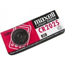 Maxell CR2025 3v Lithium Battery 1pcs in original package