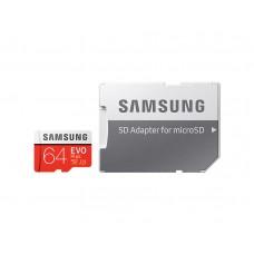Samsung Evo Plus 64GB Micro SDXC Memory Card with SD Adapter